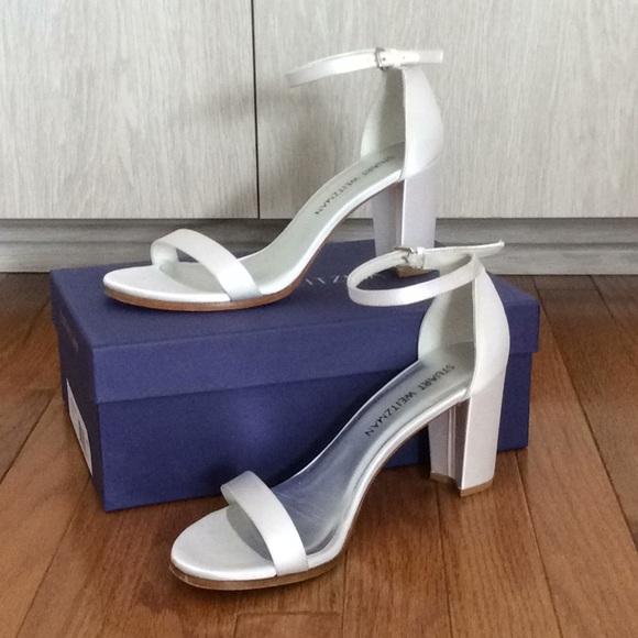 c01c97cbbdb Stuart Weitzman Shoes - Stuart Weitzman NearlyNude Sandal - 9M